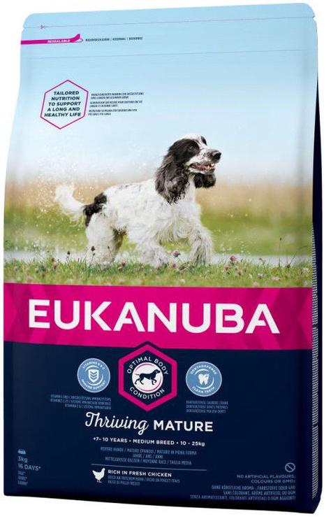 Eukanuba Mature & Senior Medium Breed Chicken 15kg