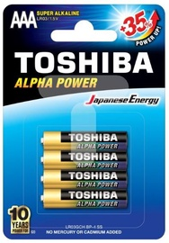 Toshiba Battery Alkaline x 4