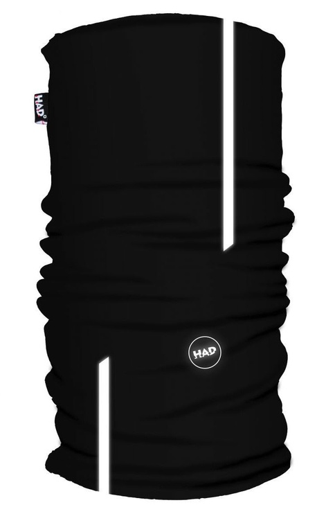H.A.D. Printed Fleece Tube Black Eyes Reflective 3M