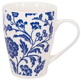 Home4you Mug Zen Blue 300ml Blue Flower