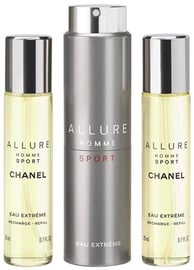 Chanel Allure Sport Eau Extreme 3x20ml EDT