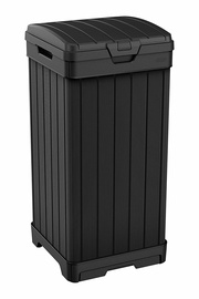 Keter Rockford Waste Bin 125l Black