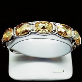 Diamond Sky Bracelet Luxor Golden Shadow With Swarovski Crystals