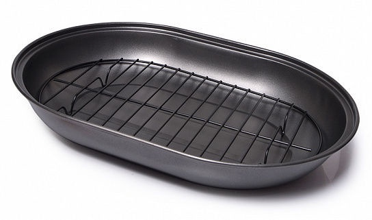 Fissman Roaster Pan With Removable Rack 39x28x7.5cm