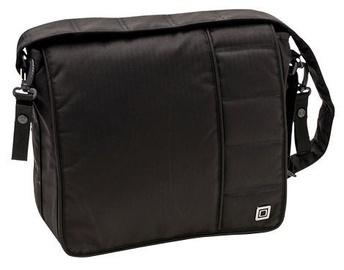 Moon City Line Diaper Bag Black
