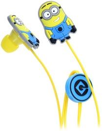 Illumination Entertainment Minion Shape Kids In-Ear Headphones