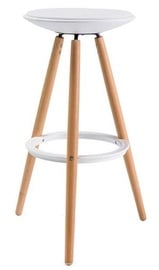 Signal Meble Roxy Bar Stool White