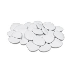 DEKORATIIVSED PLASTKIVID 50X25 VALGE