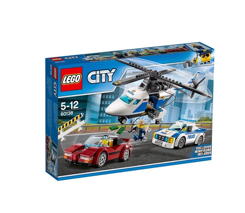 Konstruktor LEGO City High-Speed Chase 60138