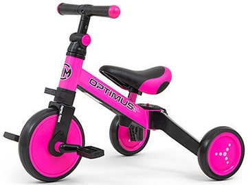 Milly Mally Optimus Ride On 3in1 Pink