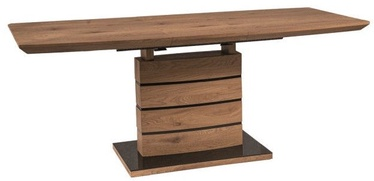 Söögilaud Signal Meble Leonardo Oak, 1400x760x800 mm