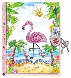 Pulio Pecoware Padlock Diary 530FM Flamingo