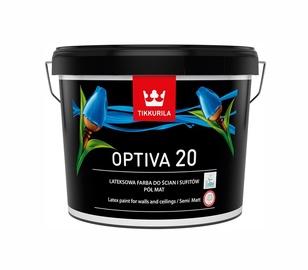 Акриловая краска на водной основе Tikkurila Optiva 20 BA, белый, 9L