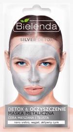 Näomask Bielenda Silver Detox Detoxifying Face Mask, 8 g