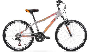 Детский велосипед Romet Rambler 13'' 24'' Graphite/Red 21
