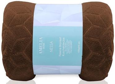 Одеяло AmeliaHome Nessa Brown, 220x240 см