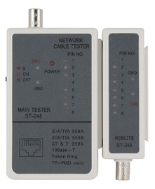 Gembird Cable Tester for RJ-45 and RG-58 Cables