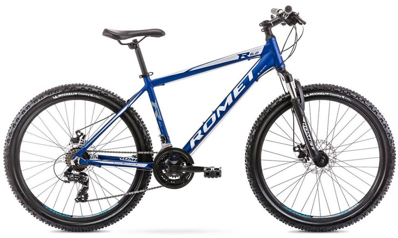 "Jalgratas Romet Rambler R6.2 Blue, 14"", 26"""
