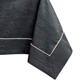 AmeliaHome Vesta Tablecloth PPG Dark Grey 140x450cm