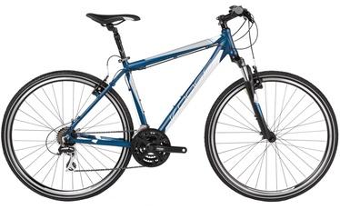 "Jalgratas Kross Evado 2.0 XL 28"" Navy Blue White Matte 17"