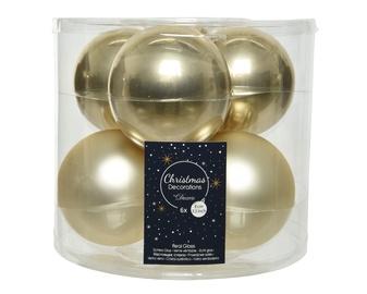 Jõulupuu ehe Kaemingk 140684 Champagne, 80 mm, 6 tk