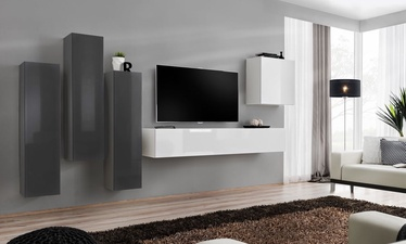 ASM Switch III Wall Unit White/Graphite