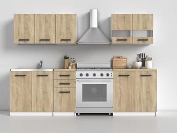 Top E Shop Kitchen Furniture Set White Oak Sonoma