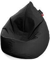 Кресло-мешок Qubo Drizzle Drop, черный, 120 л
