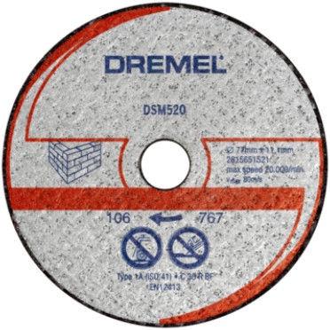 Dremel DSM20 Metal Cutting Disc 77mm