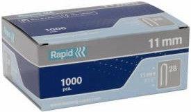 Rapid Cable 28/11mm Staples 1000pcs