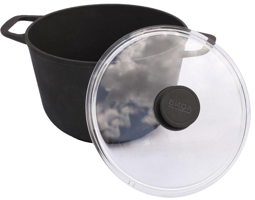 Biol Cast Iron Pot with Lid 24cm 4l