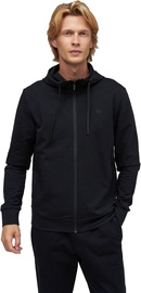 Audimas Stretch Cotton Hoodie Black XXL