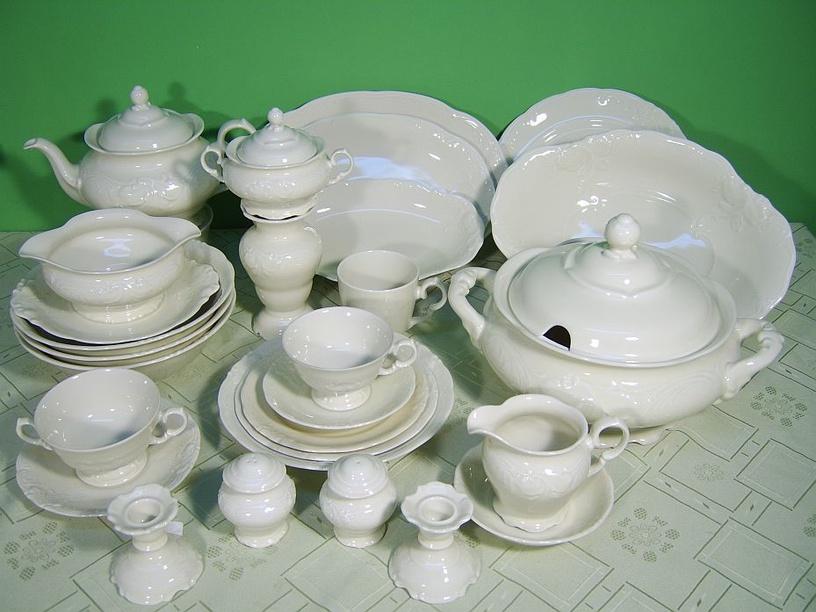 Porcelana Krzysztof Fryderyka Oval Plate 33cm