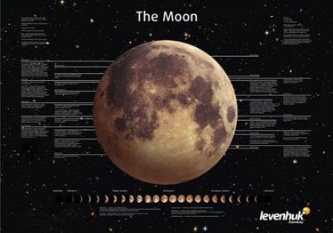 Levenhuk Moon Poster