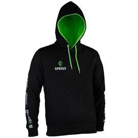 GamersWear Sprout Hoodie w/ Logo XL Black/Green