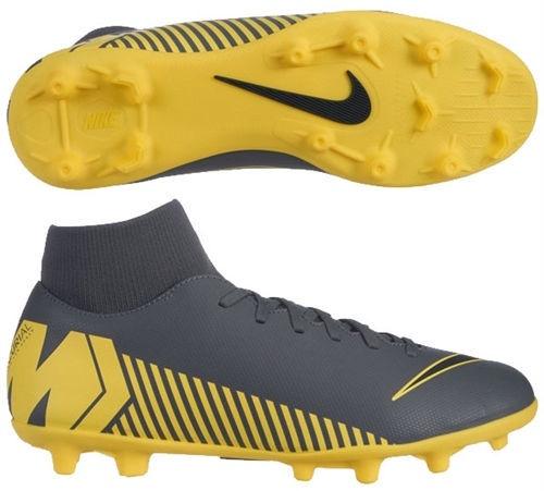 Nike Mercurial Superfly 6 Club MG AH7363 070 Gray/Yellow 42.5