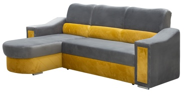 Nurgadiivan Idzczak Meble Ostin Yellow/Grey, 225 x 176 x 98 cm