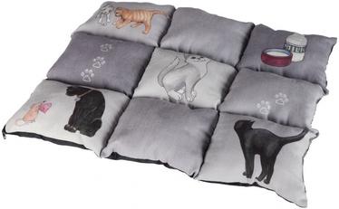 Trixie Patchwork Blanket Cat Grey 55x45cm