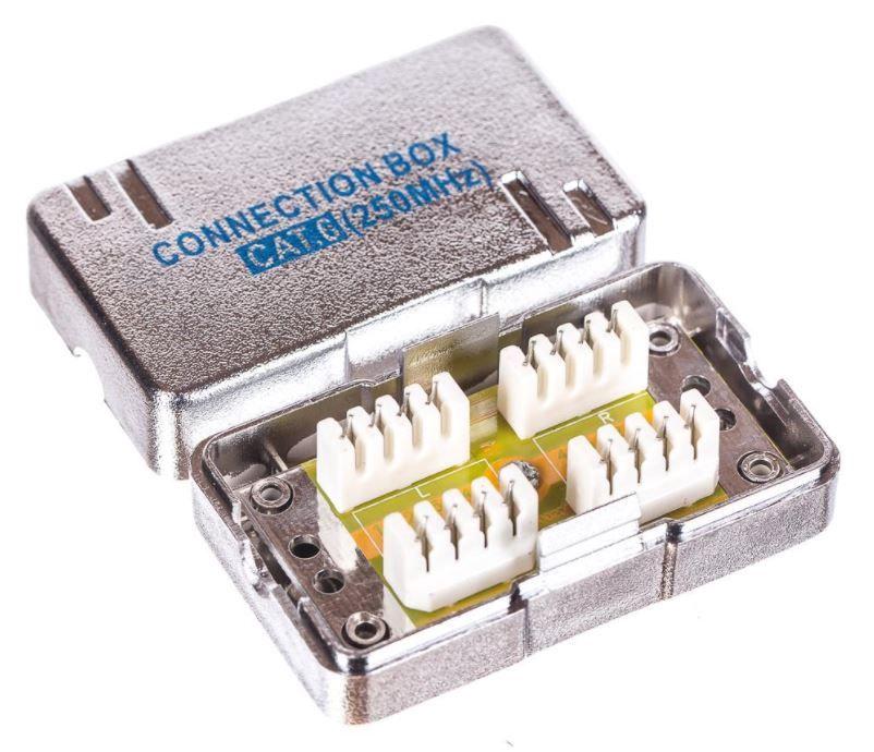 Netrack Cord Coupler Krone IDC Cat 6 STP