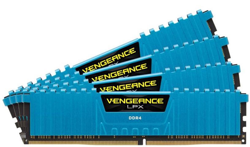 Corsair Vengeance LPX 32GB 2400MHz DDR4 C14 DIMM KIT OF 4 CMK32GX4M4A2400C14B