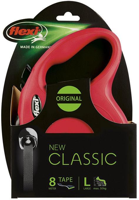 Flexi Classic Tape L 8m Red