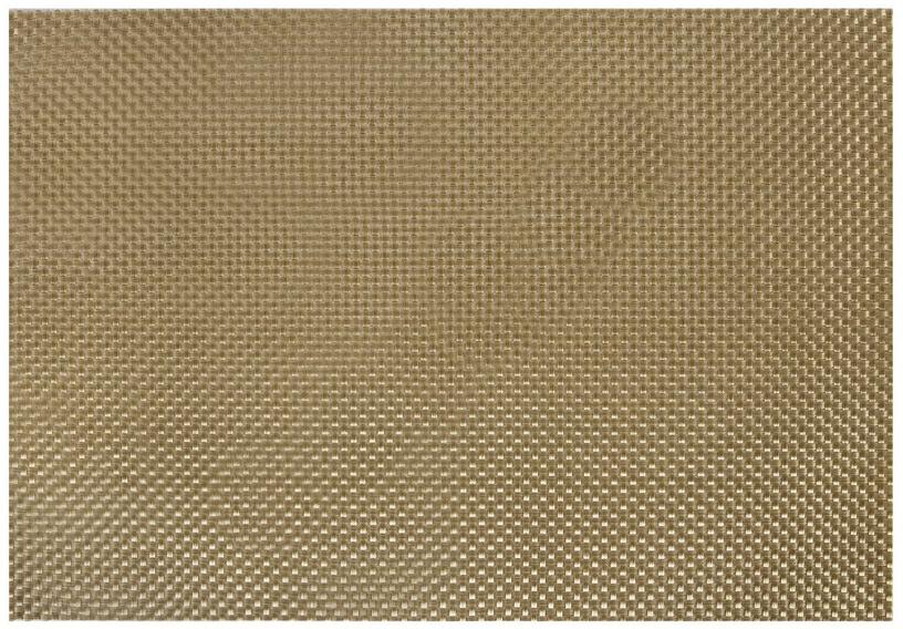 Home4you Textiline Placemat 30x45cm Gold