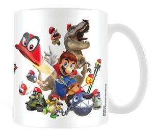 Pyramid International Super Mario Odyssey Cap Montage Mug