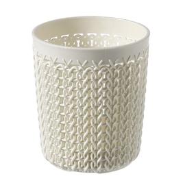 Curver Basket Knit S Round Ø10x11cm White
