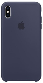 Apple Silicone Back Case For Apple iPhone XS Max Midnight Blue