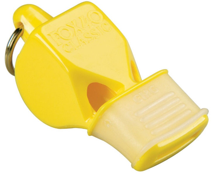 Fox 40 Safety Classic CMG Whistle with Lanyard 9603-0208