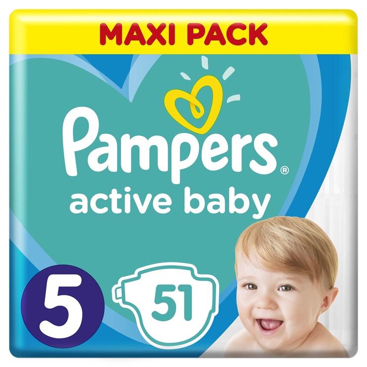 Mähkmed Pampers Active Baby-Dry, 5, 51 tk