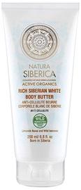 Natura Siberica Active Organics Rich Siberian White Body Butter 200ml