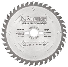 CMT Ripping Crosscut Saw Blade Z60 -5°ATB 254x2.4x30