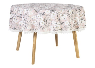 Home4you Wakiki Tablecloth D170 Pink Rose